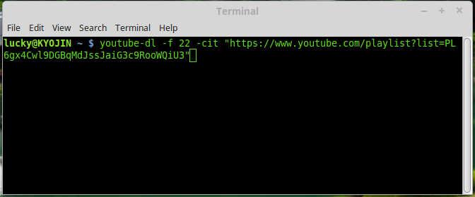 Bulk YouTube Downloader on Linux