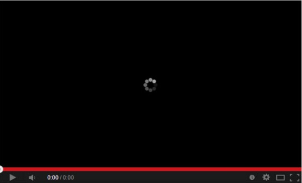 youtube video not start