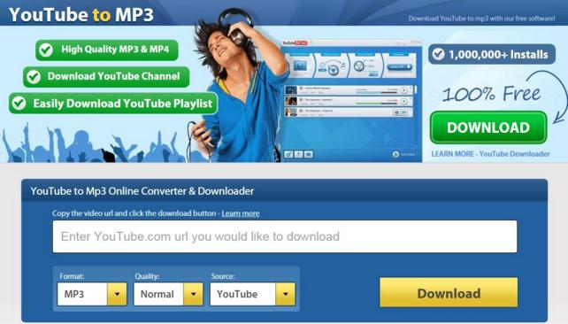 YouTube to MP3!